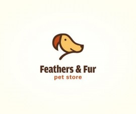 feathers-and-fur-logo-negative-space