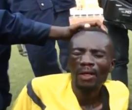 arbitro golpeado congo