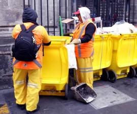 basura en la ciudad de mexico
