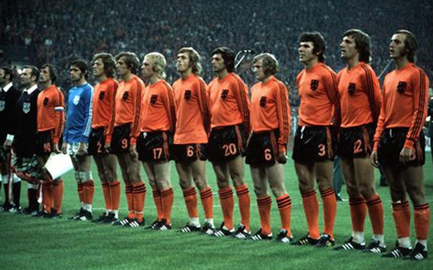 seleccion holanda 1974