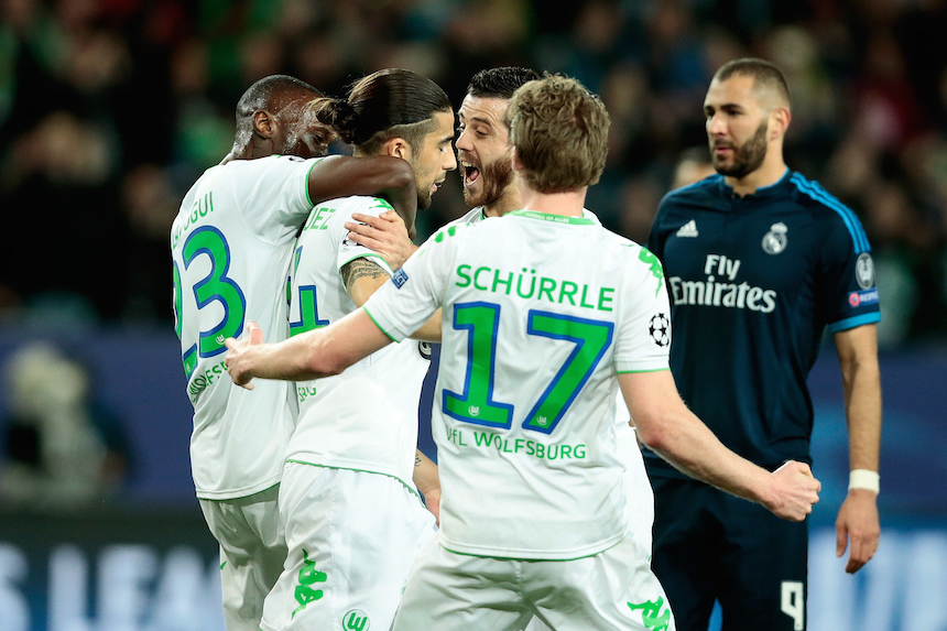 VfL Wolfsburg v Real Madrid CF - UEFA Champions League Quarter Final: First Leg