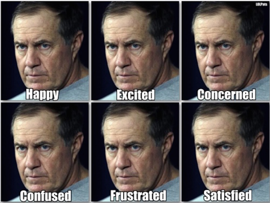 Belichick-Faces