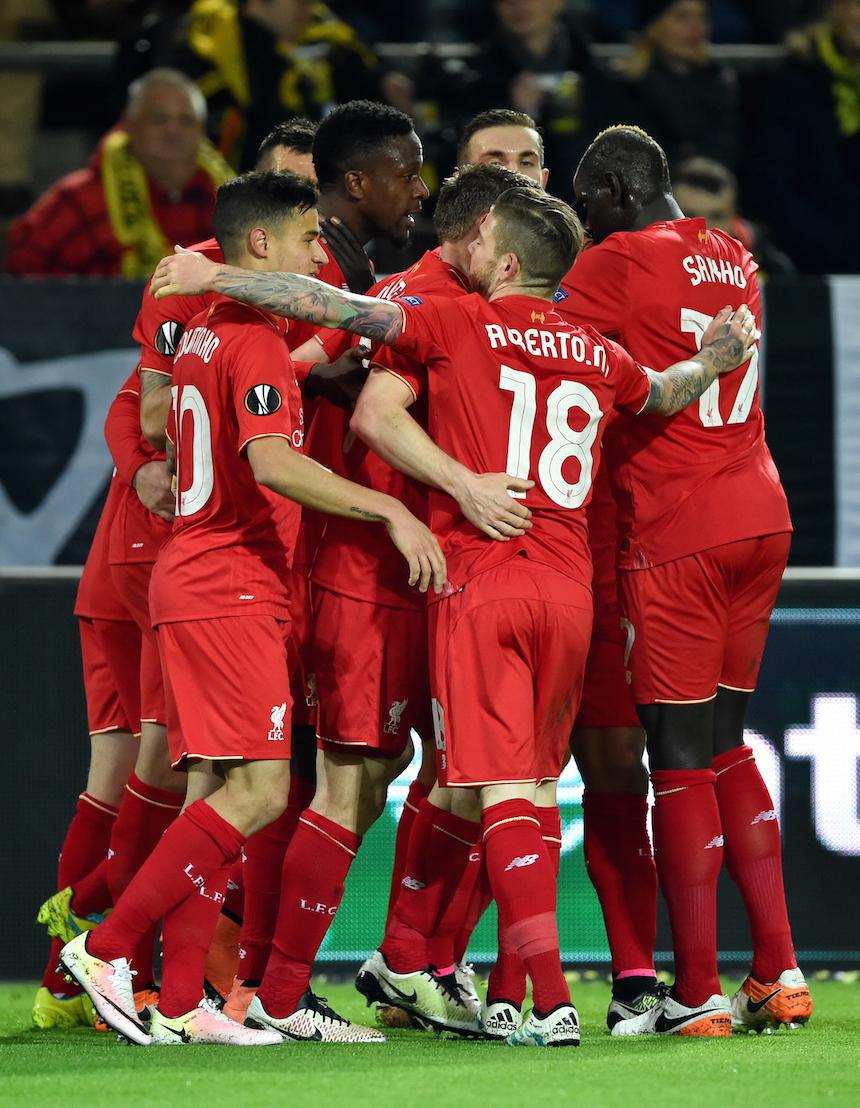 Borussia Dortmund v Liverpool - UEFA Europa League Quarter Final: First Leg