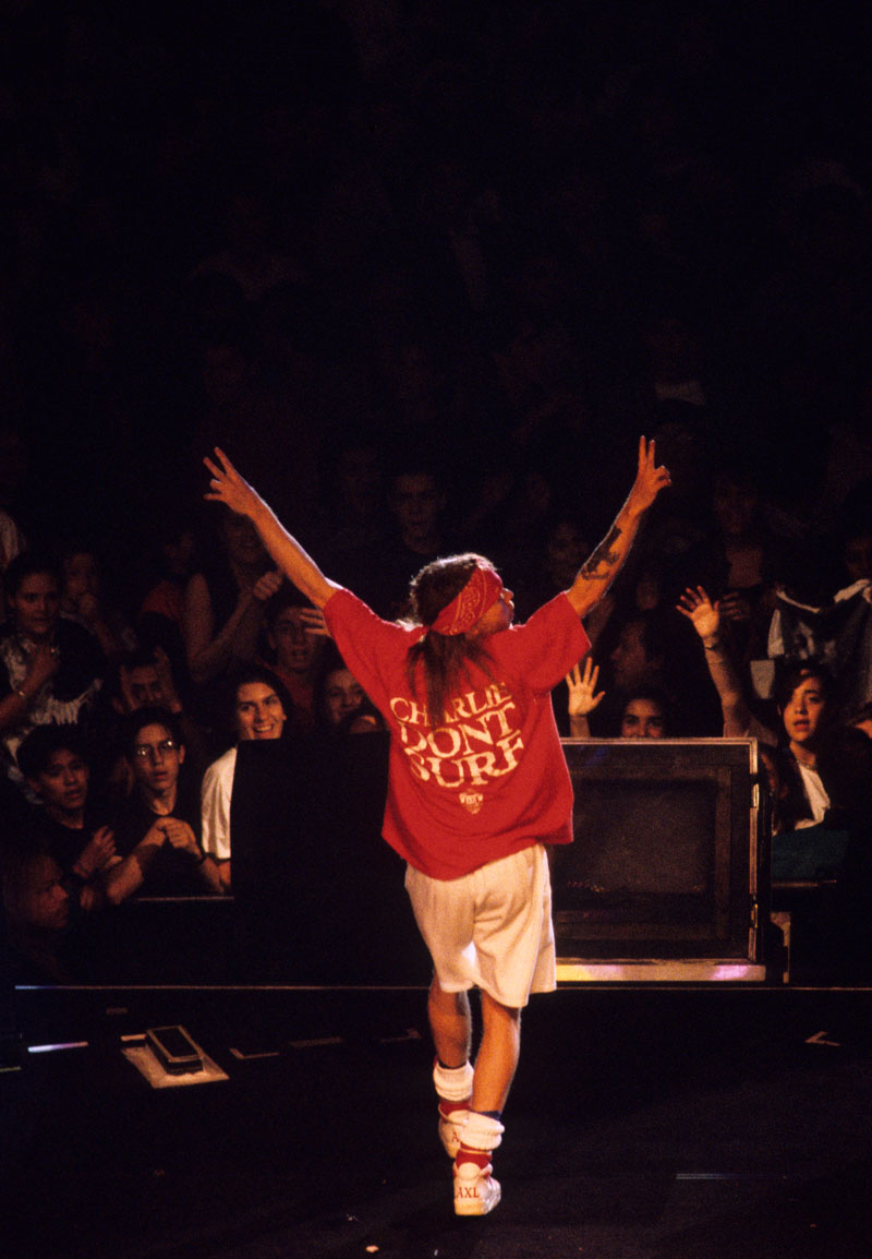 daa033a33407 Así era el mundo cuando Guns N  Roses vino por primera vez a México