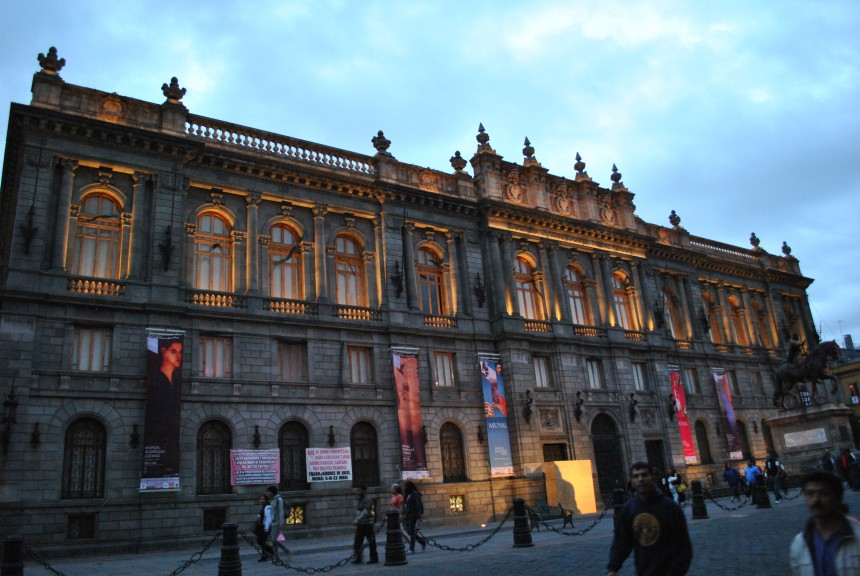 Museo_Nacional_de_Arte_México_atardecer.
