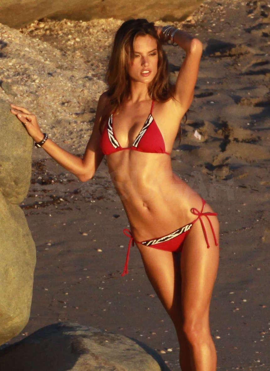 Alessandra Ambrosio Is One Hot Bikini Mamma!