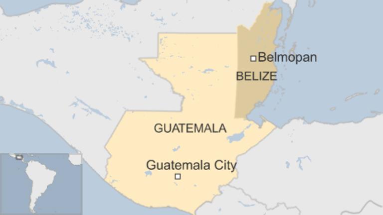 belice y guatemala