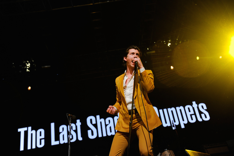 INDIO, CA - APRIL 15: Musician Alex Turner of The Last Shadow Puppets performs onstage during day 1 of the 2016 Coachella Valley Music & Arts Festival Weekend 1 at the Empire Polo Club on April 15, 2016 in Indio, California. (Photo by Emma McIntyre/Getty Images for Coachella)