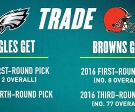eagles browns trade