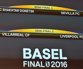 europa league semifinales