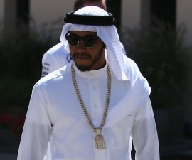hamilton bahrein arabe