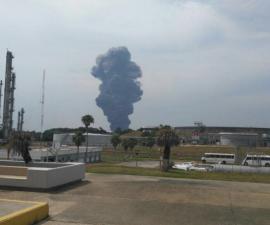 video explosion coatzacoalcos