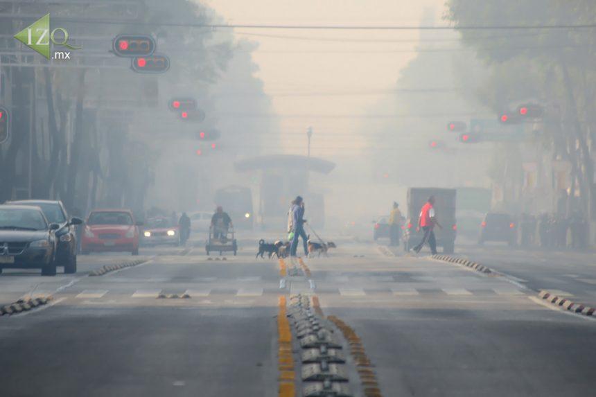 Sigue la mala calidad del aire; se mantiene Fase 1 de contingencia