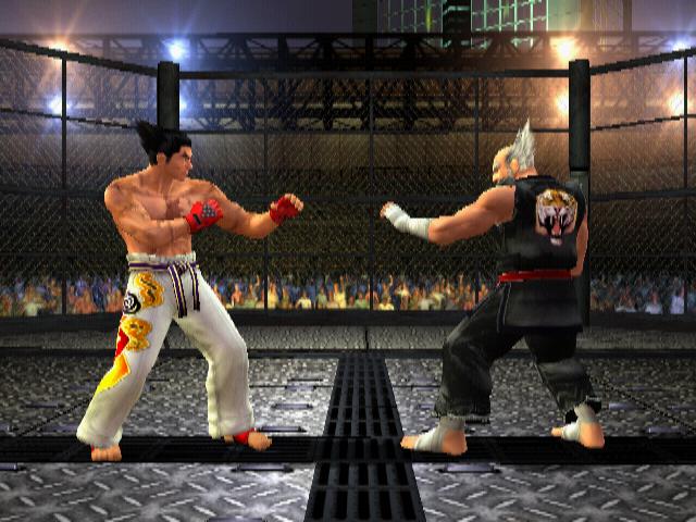 kazuya vs heihachi