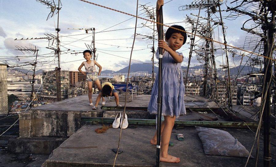 Asi Era La Vida En La Ciudad Amurallada De Kowloon Un Autentico