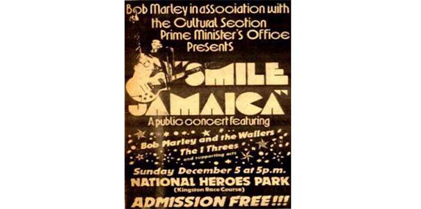smile jamaica bob marley