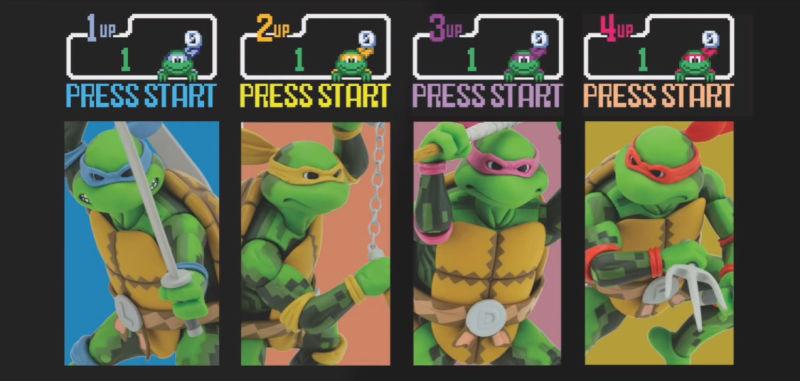 Checa estas geniales figuras basadas en el juego de Arcade de las