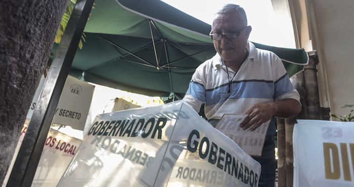 Se reportan varios disturbios tras las elecciones del d a for Ministerio interior elecciones junio 2016