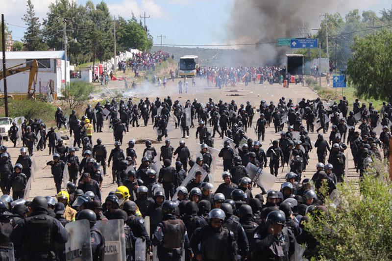 Hubo policías armados durante operativo en Nochixtlán, confirma CNDH