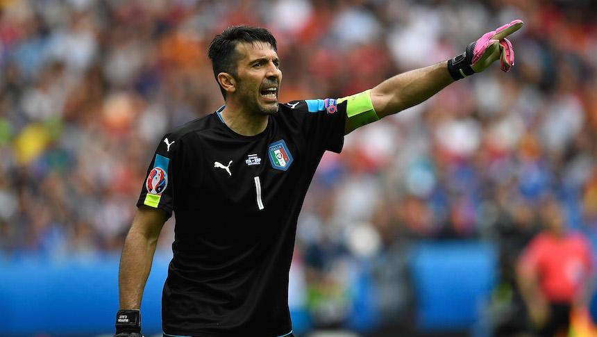 buffon - italia - euro - 2016