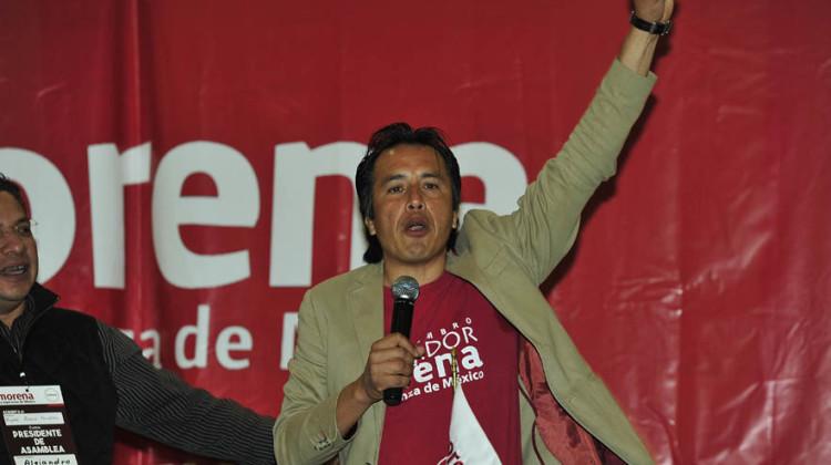 Cuitláhuac García Jiménez candidato a gobernador por MORENA
