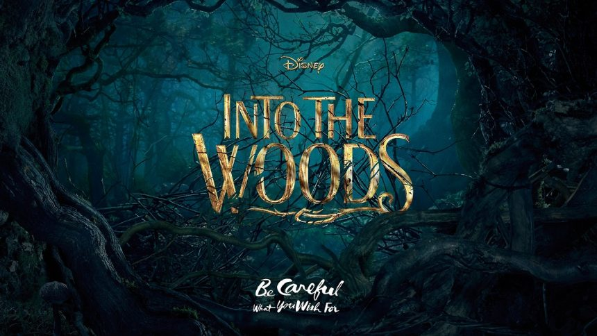 into th woods
