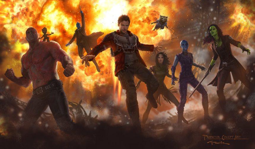 Concepto de arte - Guardians of the Galaxy 2