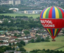 Balloonists Take To The Skies For The Bristol International Balloon Festival