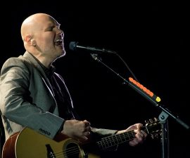 NEW YORK, NEW YORK - APRIL 04:  Billy Corgan of The Smashing Pumpkins performs in concert at The Beacon Theatre on April 4, 2016 in New York City.  (Photo by Noam Galai/Getty Images)