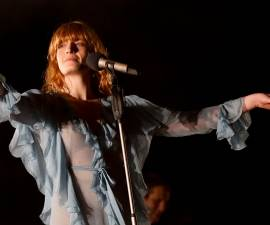 SANTIAGO, CHILE - MARCH 20: Florence Welch of Florence + The Machine performs in the closing show of Lollapalooza Chile 2016 at Parque O`higgins on March 20, 2016 in Santiago, Chile. (Photo by Renato Pereda/LatinContent/Getty Images)
