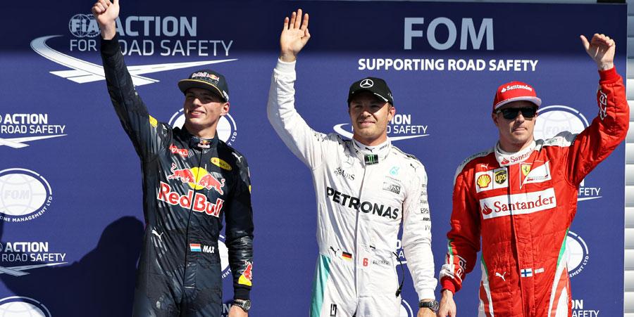 Fórmula 1: Rosberg se queda con la pole en el GP de Bélgica, Checo Pérez saldrá sexto