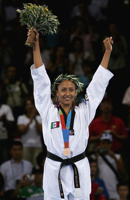 Iridia-Salazar-Medalla-Mexico