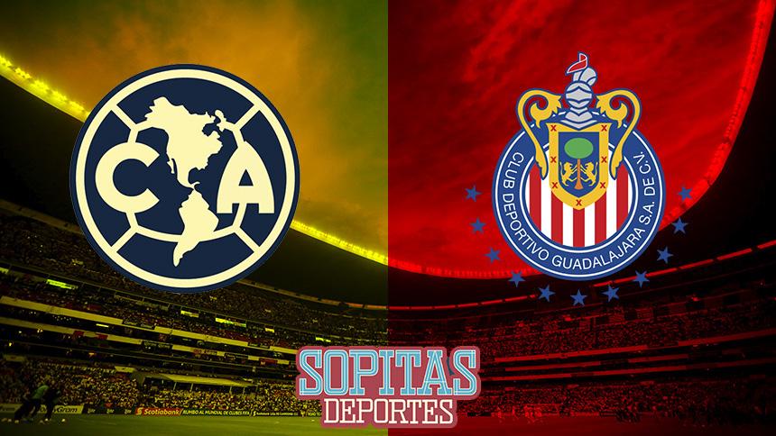 En vivo: América recibe a Chivas para una edición más del Clásico Nacional