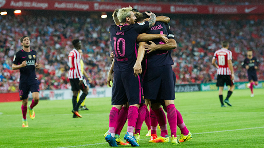 Barcelona vence con la mínima al Athletic