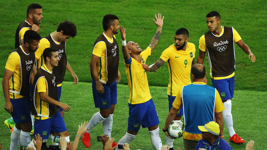 brasil campeon olimpico futbol