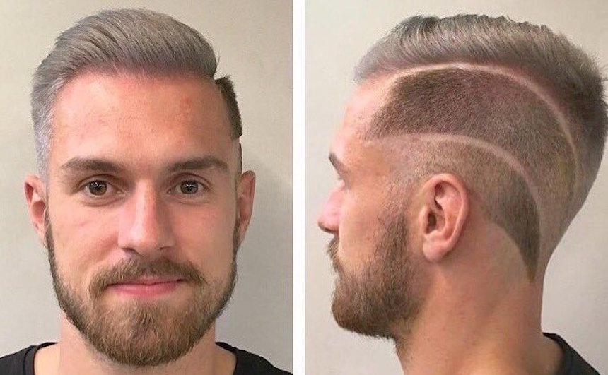 Los mejores memes por el nuevo peinado de Aaron Ramsey