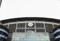 Etihad Stadium antes del encuentro entre el Manchester City y el West Ham