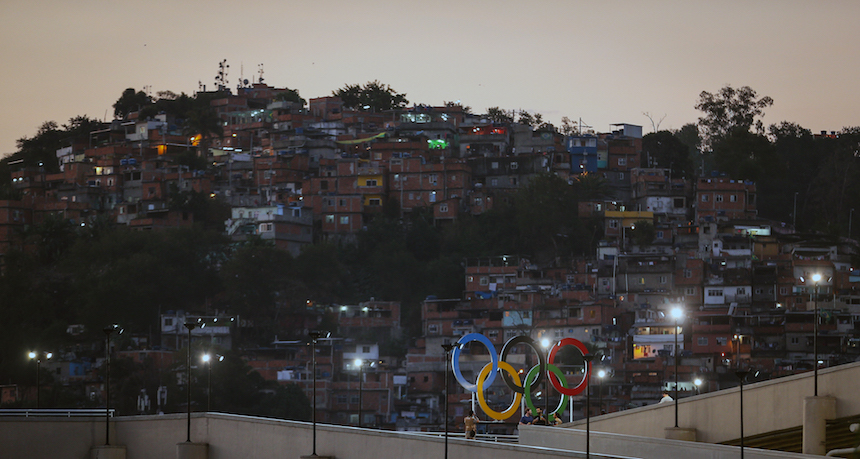 favelas rio 2016