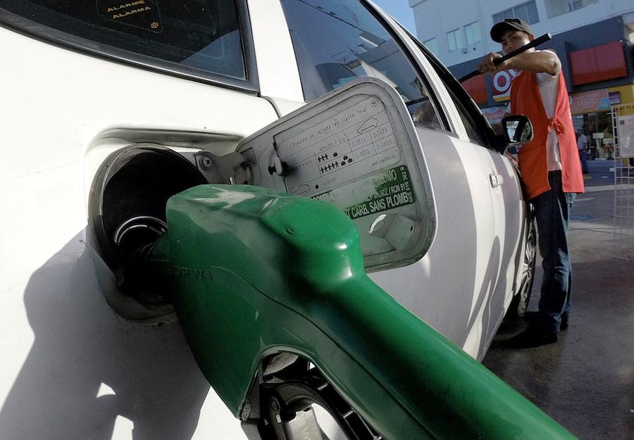 El gasto de la gasolina de los floreros 2109 1.3