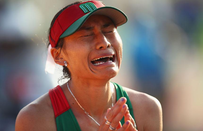Guadalupe Gonzalez termina en el segundo lugar de la prueba del marcha