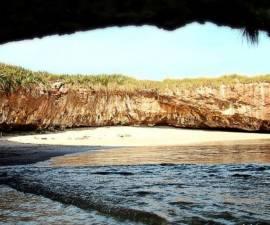 Las Islas Marietas es una de las principales atracciones turísticas en Nayarit