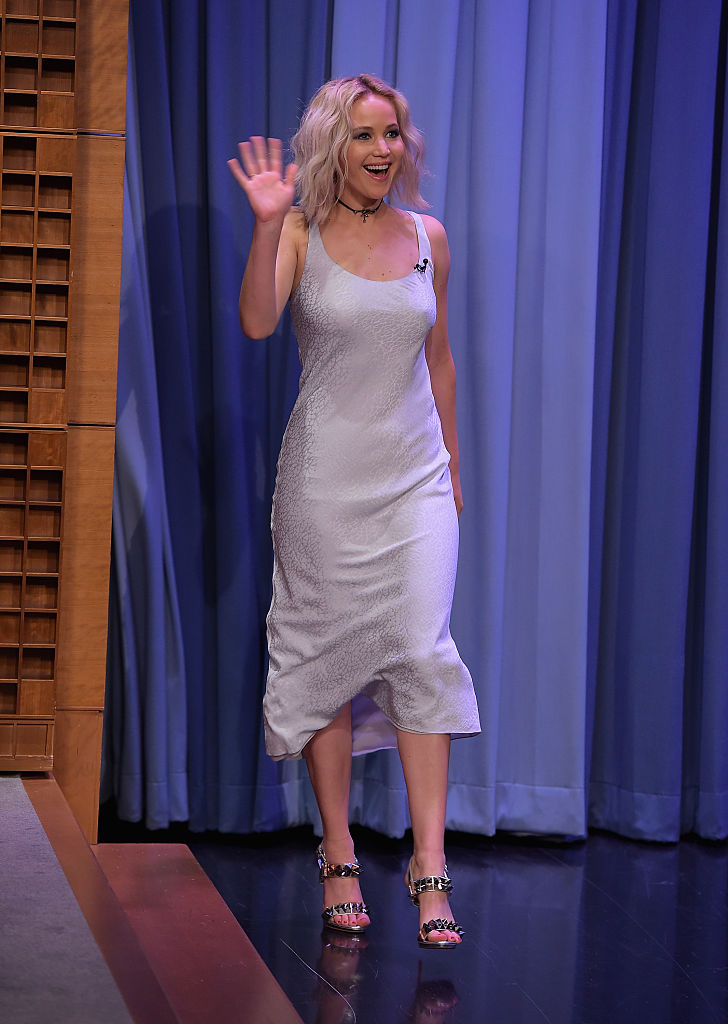 Jennifer Lawrence Forbes 2016