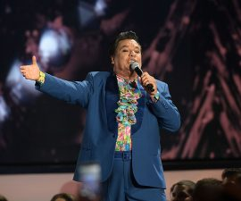 performs onstage at the Billboard Latin Music Awards at Bank United Center on April 28, 2016 in Miami, Florida.