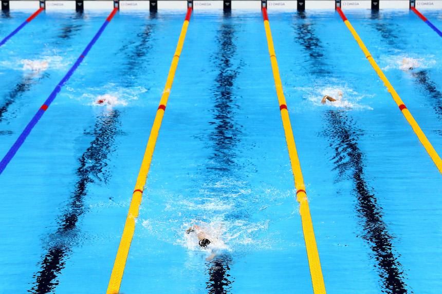 Katie Ledecky rompe el récord en la final de los 800 metros libres en los Juegos Olímpicos
