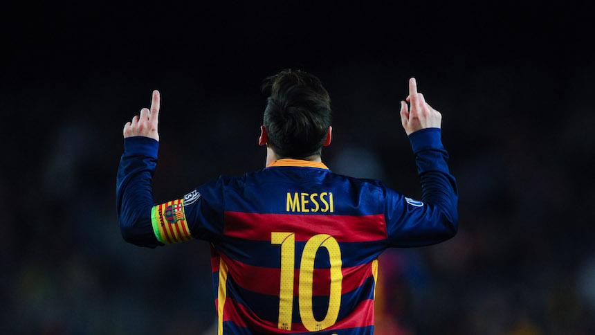 Lionel Messi ganó el premio al mejor gol en la UEFA