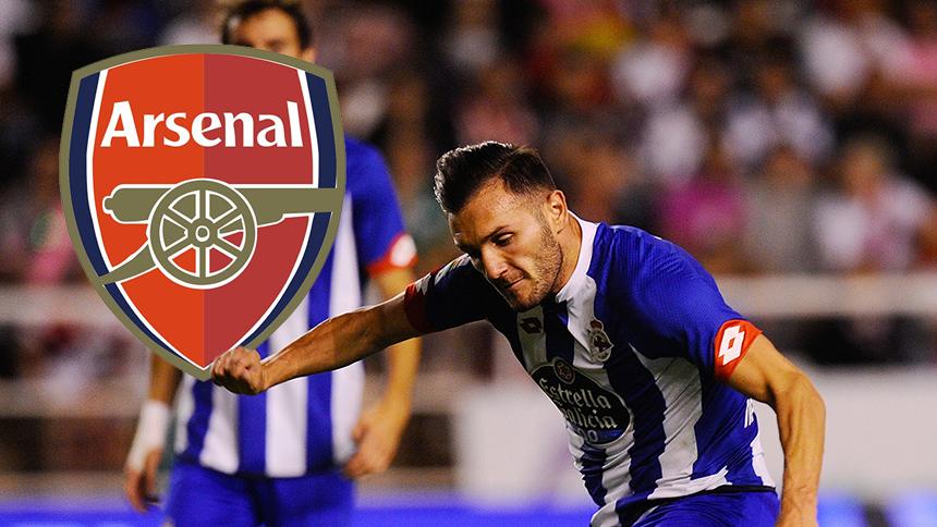 Arsenal contrata al delantero Lucas Pérez