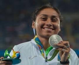 Lupita Gonzalez Medallista olimpica mexico
