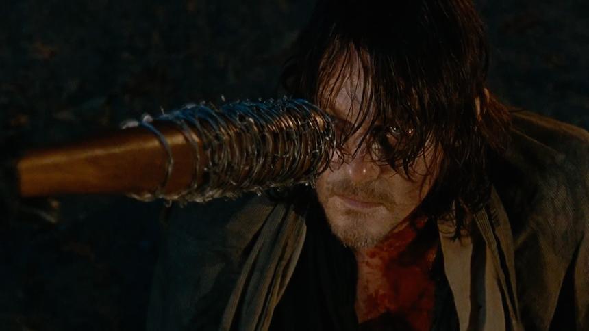 Negan y Daryl