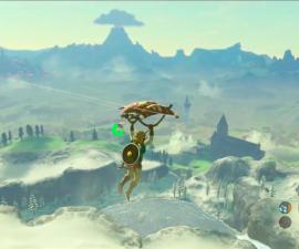 Paraglider The Legend of Zelda: Breath of the Wild