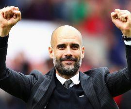 pep guardiola cantico manchester city